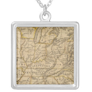 United States 5 Silver Plated Necklace
