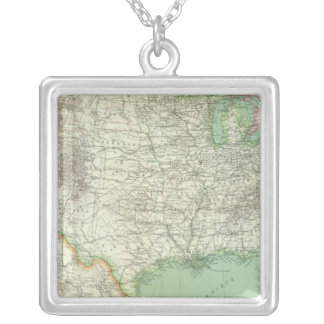 United States 7 Silver Plated Necklace