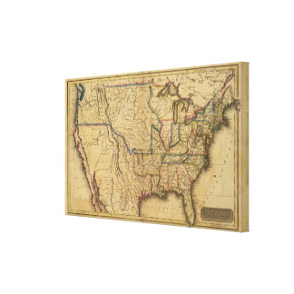 United States 8 Canvas Print