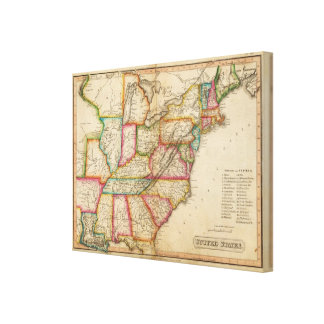 United States 9 Canvas Print
