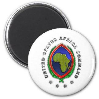 United States Africa Command 6 Cm Round Magnet