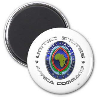 United States Africa Command 6 Cm Round Magnet
