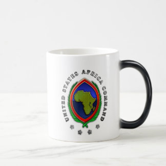 United States Africa Command 11 Oz Magic Heat Color-Changing Coffee Mug