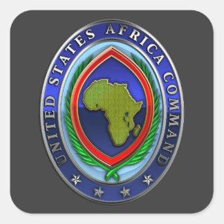 United States Africa Command Square Sticker