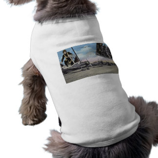 United States Air Corps Vintage Doggie T Shirt