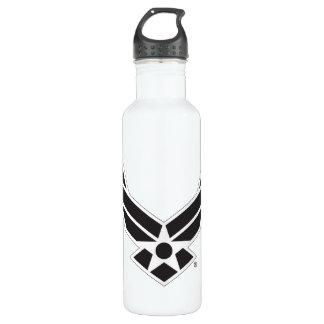 United States Air Force Logo - Black 710 Ml Water Bottle