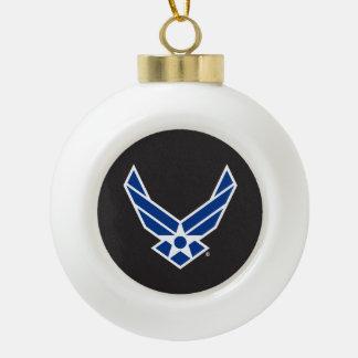 United States Air Force Logo - Blue Ceramic Ball Decoration