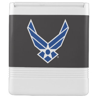 United States Air Force Logo - Blue Igloo Cooler