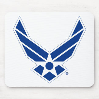 United States Air Force Logo - Blue Mouse Pad