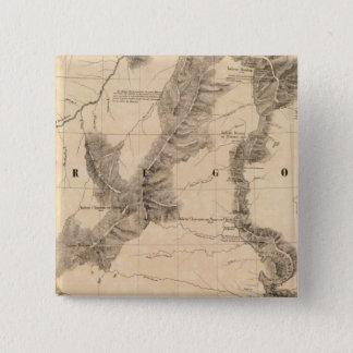 United States, America 40 15 Cm Square Badge