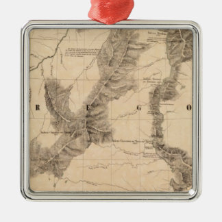 United States, America 40 Christmas Ornament