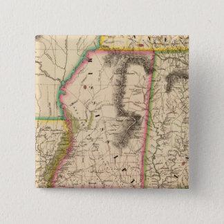 United States, America 56 15 Cm Square Badge