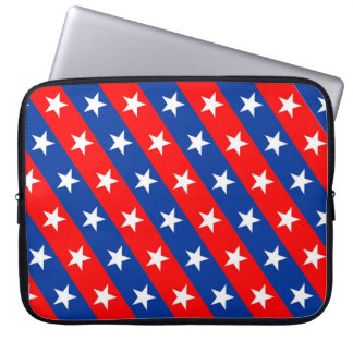 united states america country flag pattern symbol laptop sleeve