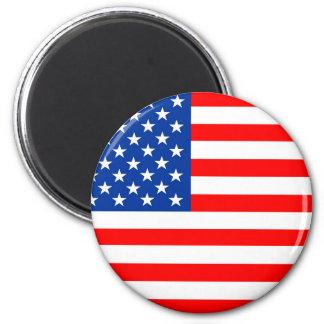 united states america country flag usa symbol 6 cm round magnet