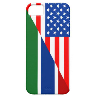 united states america gambia half flag usa country iPhone 5 covers