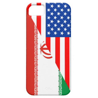 united states america iran half flag usa country case for the iPhone 5