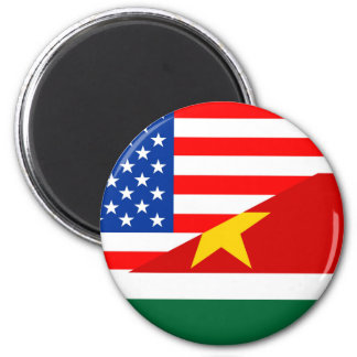 united states america suriname half flag usa count magnet