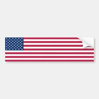 United States/American Flag, USA/US Bumper Sticker