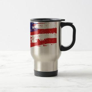 United States/American Star Flag, USA/US Travel Mug