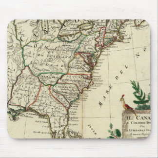 United States and Canada Mouse Mat