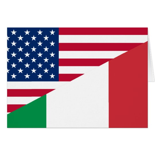 United States And Italy, hybrids Card