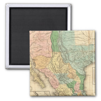 United States and Mexico Refrigerator Magnets