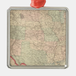 United States and Territories 2 Christmas Ornament