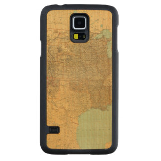 United States and Territories Carved Maple Galaxy S5 Case