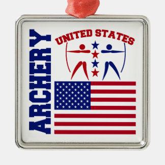 United States Archery Christmas Ornament