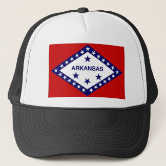 United States Arkansas Flag Trucker Hat
