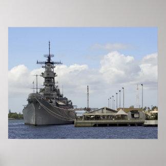 United States Battleship Missouri - Pearl Harbor Posters