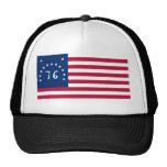 United States Bennington Flag Spirit of 76 Cap