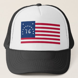 United States Bennington Flag Spirit of 76 Trucker Hat