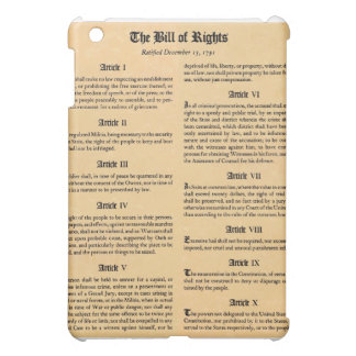 United States Bill of Rights Cover For The iPad Mini