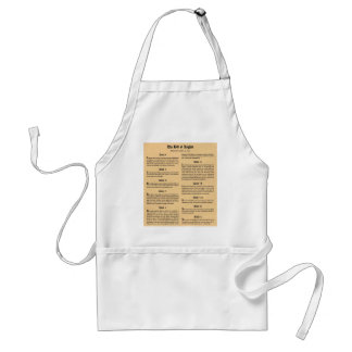 United States Bill of Rights Standard Apron