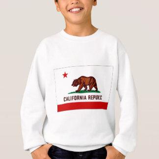 United States California Flag Sweatshirt