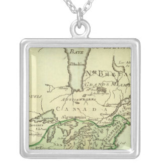 United States, Canada 2 Silver Plated Necklace