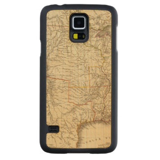 United States, Canada Carved Maple Galaxy S5 Case