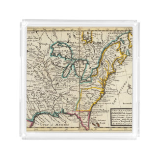 United States, Canada, North America Acrylic Tray