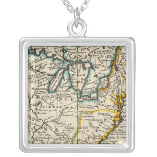 United States, Canada, North America Silver Plated Necklace