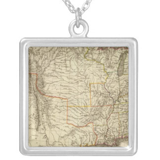 United States, Canada Silver Plated Necklace