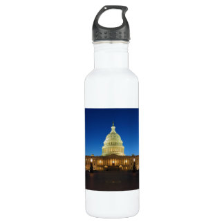 United States Capitol Building at Dusk 710 Ml Water Bottle