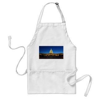 United States Capitol Building at Dusk Apron