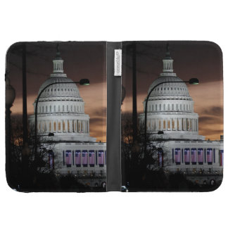 United States Capitol Building at Dusk Kindle 3 Case