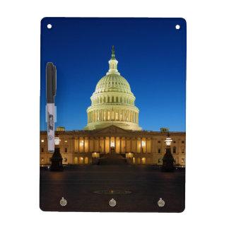 United States Capitol Building at Dusk Dry-Erase Whiteboard