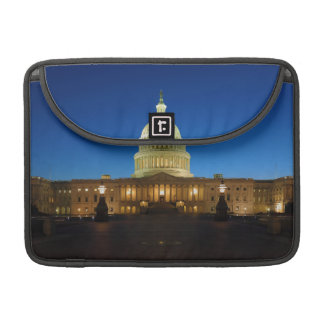 United States Capitol Building at Dusk MacBook Pro Sleeves