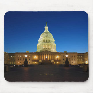 United States Capitol Building at Dusk Mouse Pads