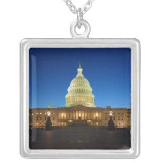 United States Capitol Building at Dusk Pendants