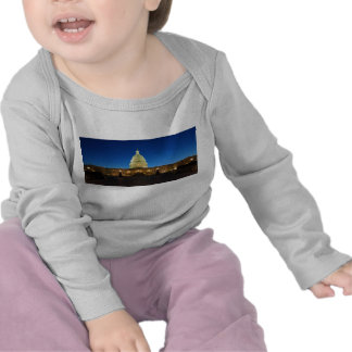 United States Capitol Building at Dusk T-shirts