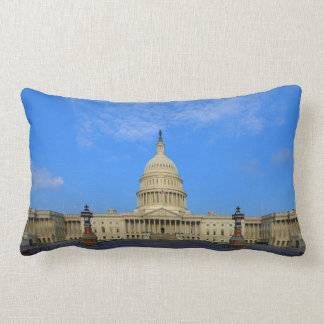 United States Capitol Building East Side Throw Pillows
